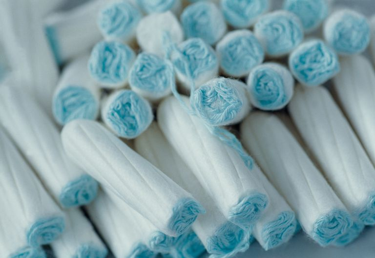 Pile of tampons