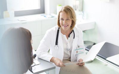 IBS-A. female doctor
