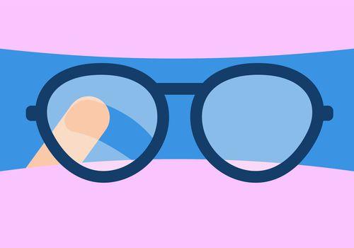 Glasses fogging up