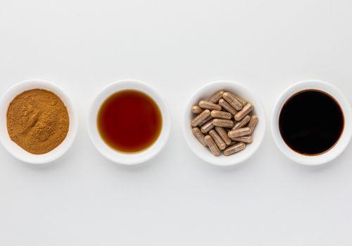 Agaricus Blazei Mushroom powder, extract, capsules, tincture
