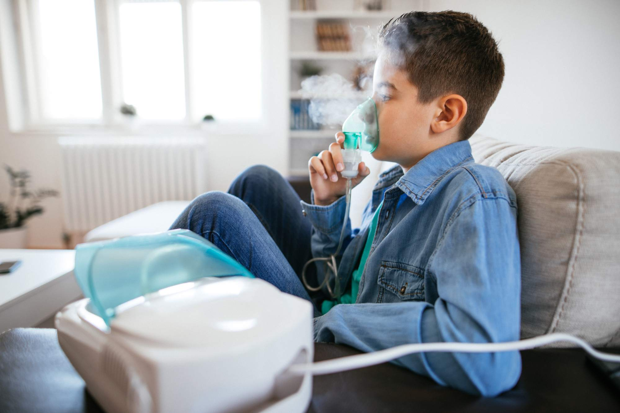 how to use a nebulizer for asthma