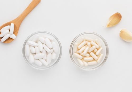 Allicin capsules and tablets