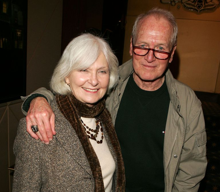 Paul Newman and his wife before his death from lung cancer