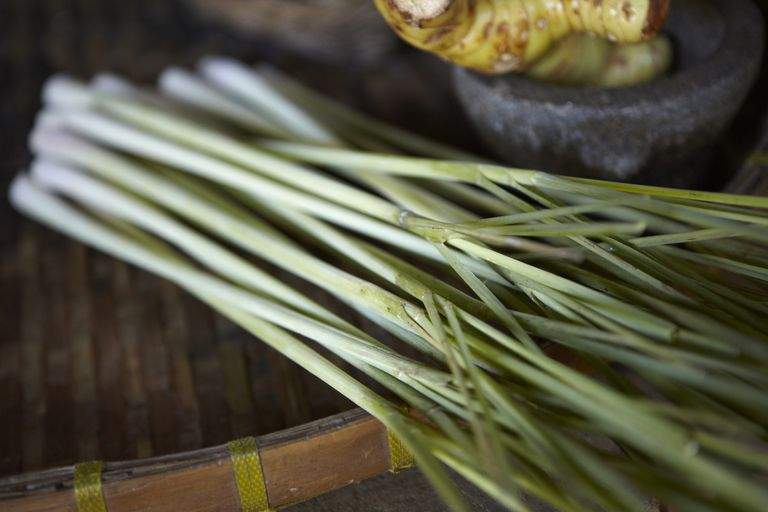 Lemongrass on a table