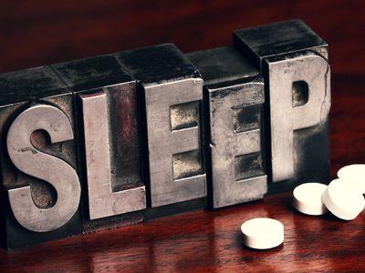 Melatonin supplements are a natural sleep aid.
