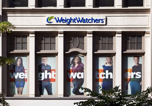 Window of the Weight Watchers Store