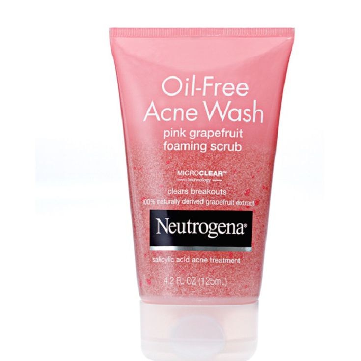 Review: Neutrogena Pink Grapefruit Foaming Scrub Review