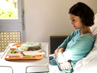 Appetite loss in hospital patient