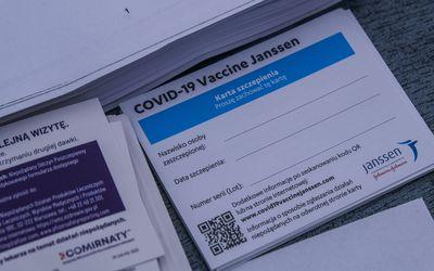 Johnson and Johnson vaccine card