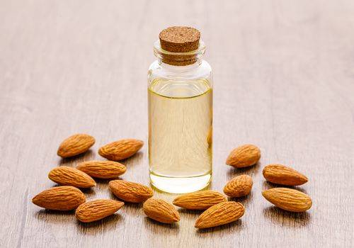 Almonds and almond extract
