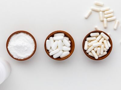 N-Acetylcysteine powder, tablets, and capsules