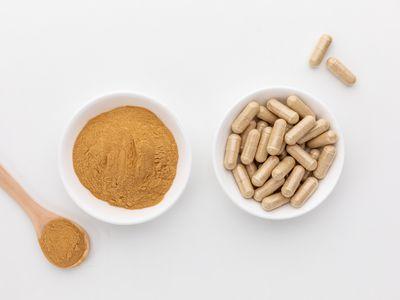 Cissus Quadrangularis powder and capsules