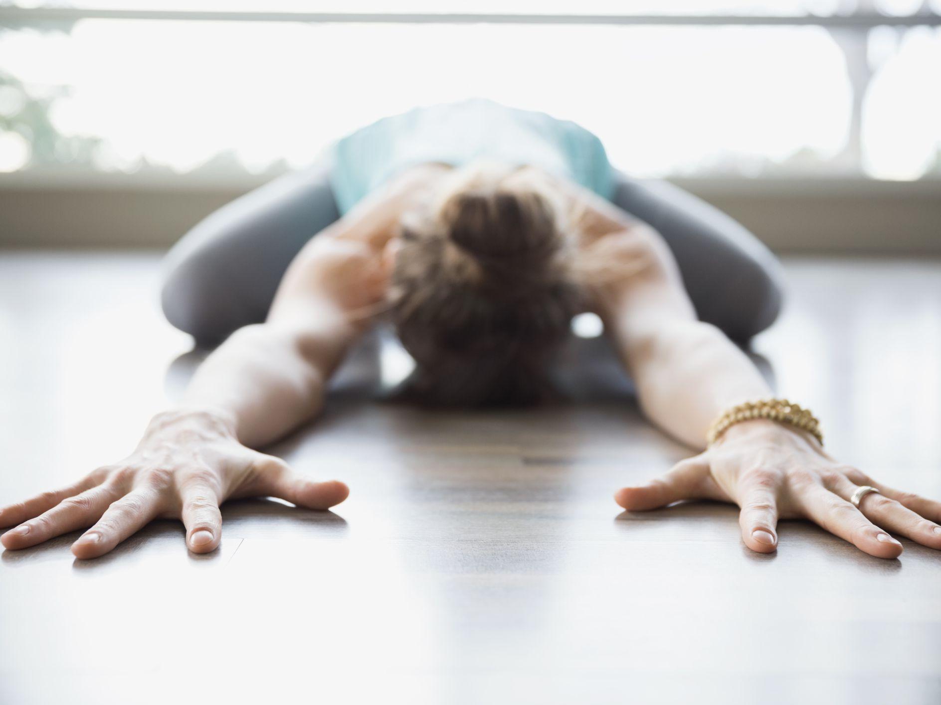 86dd0d39b6 Child's Pose Yoga for Back Pain