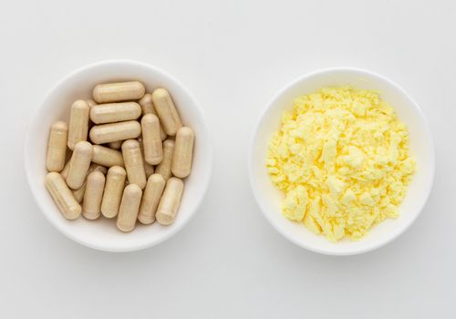 Alpha-Lipoic Acid capsules and powder