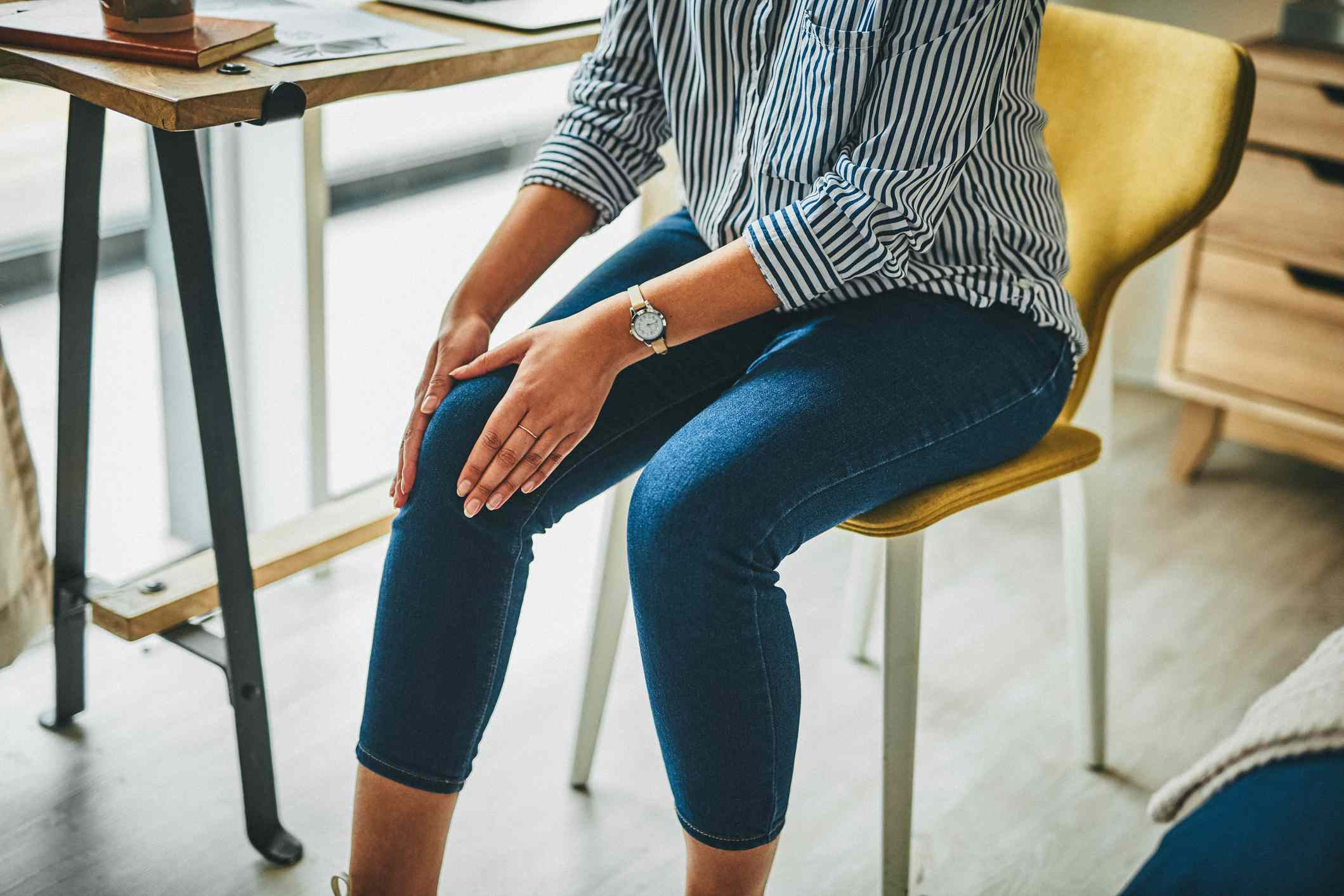 Prolonged periods of sitting can cause stiffness to your joints