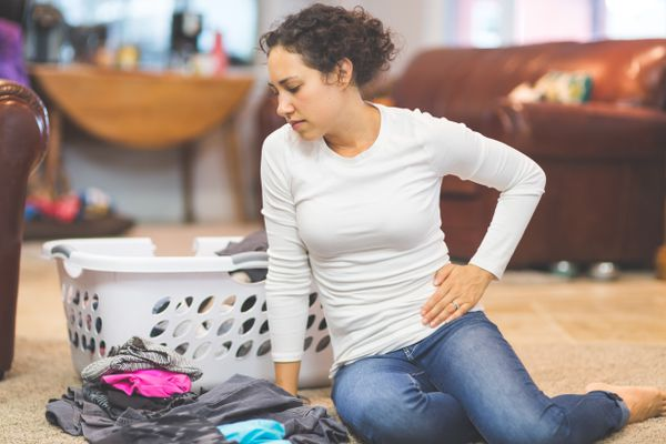 woman withPelvic pain