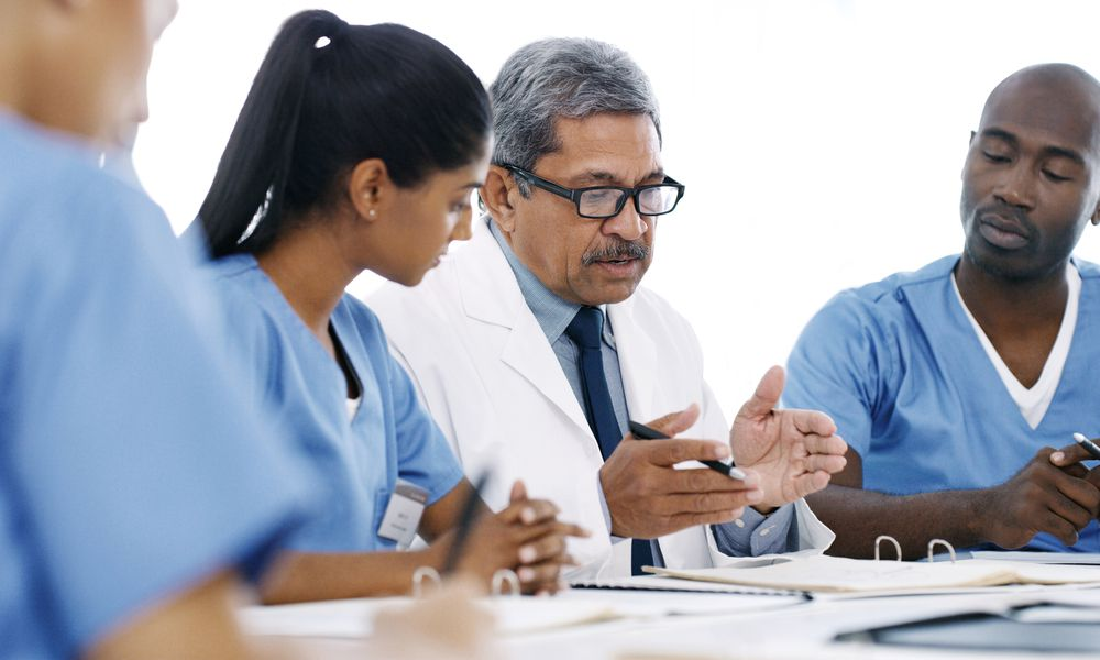 Doctors use guidelines to make decisions