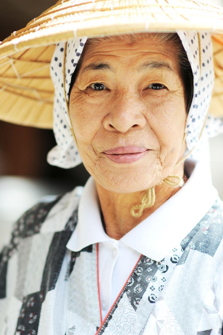 elderly japanese woman