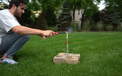at-home firework