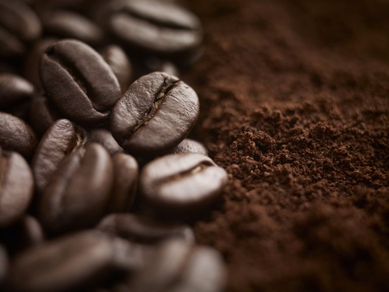 coffee beans/enema
