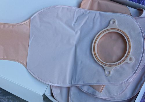 Colostomy bags