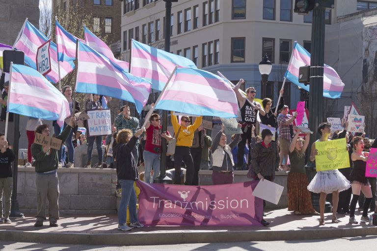 North Carolina Transgender Rally