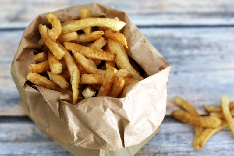 Deep-Fried French Fries