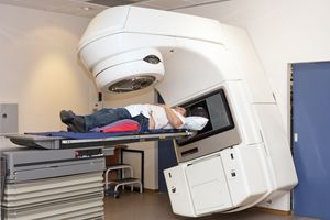 Patient going for Radiology - Cancer Treatment