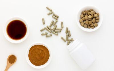 Lemon balm tincture, powder, tablets, and capsules