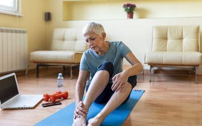 Arthritis pain is often treated with NSAIDs like flurbiprofen