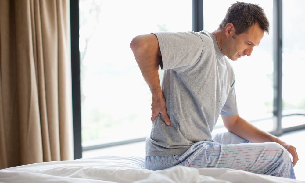 RA back pain