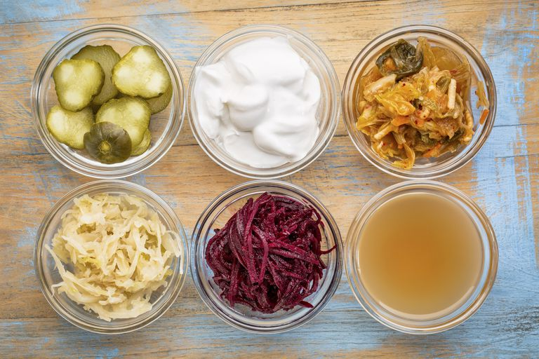 Probiotic food sources
