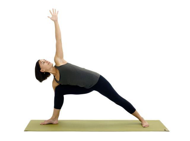 Extended Side Angle Pose, Utthita Parsvakonasana
