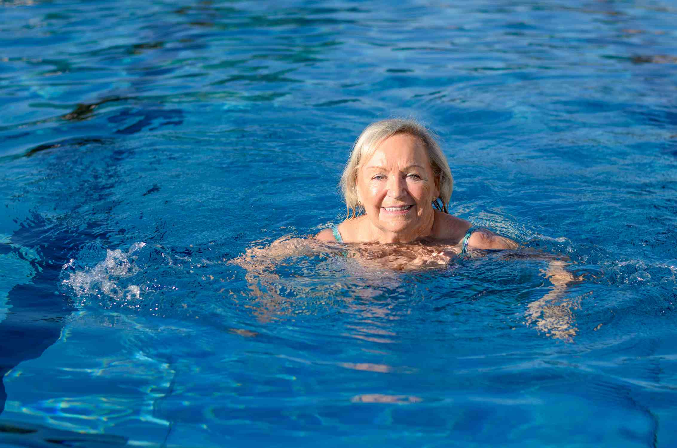 Water exercise for pain
