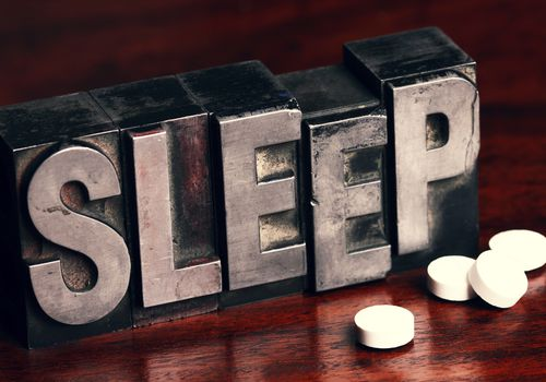 Melatonin supplements are a natural sleep aid.