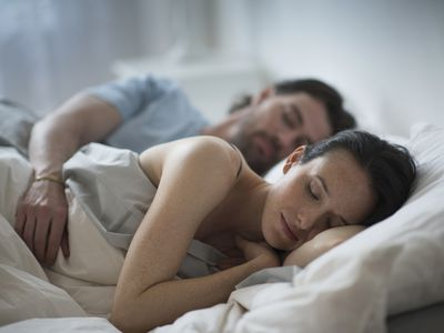 couple sleeping together with CPAP may affect sex life