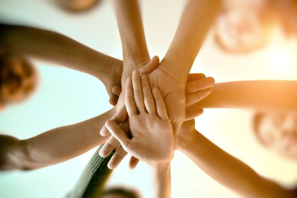 Hands together for inclusion
