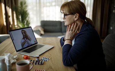 Thyroid disease telehealth appointment