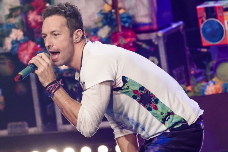 Chris Martin with hearing loss
