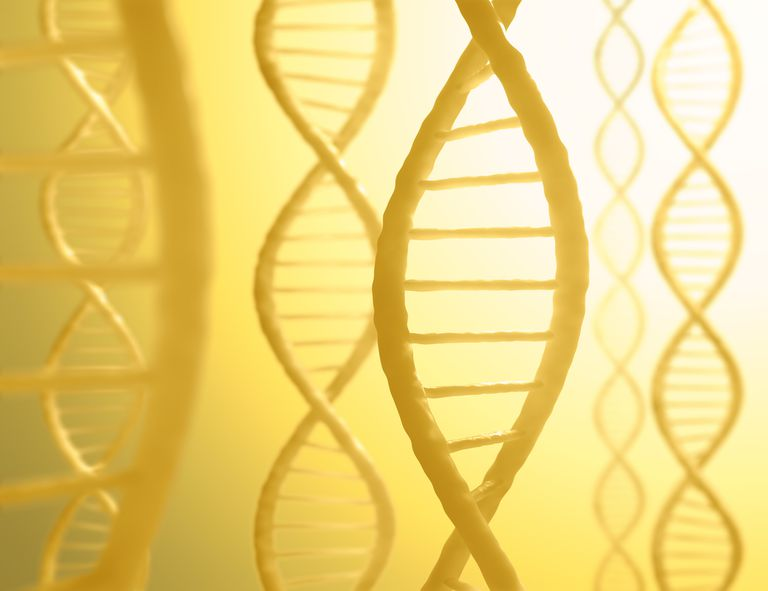 illustration of a DNA helix