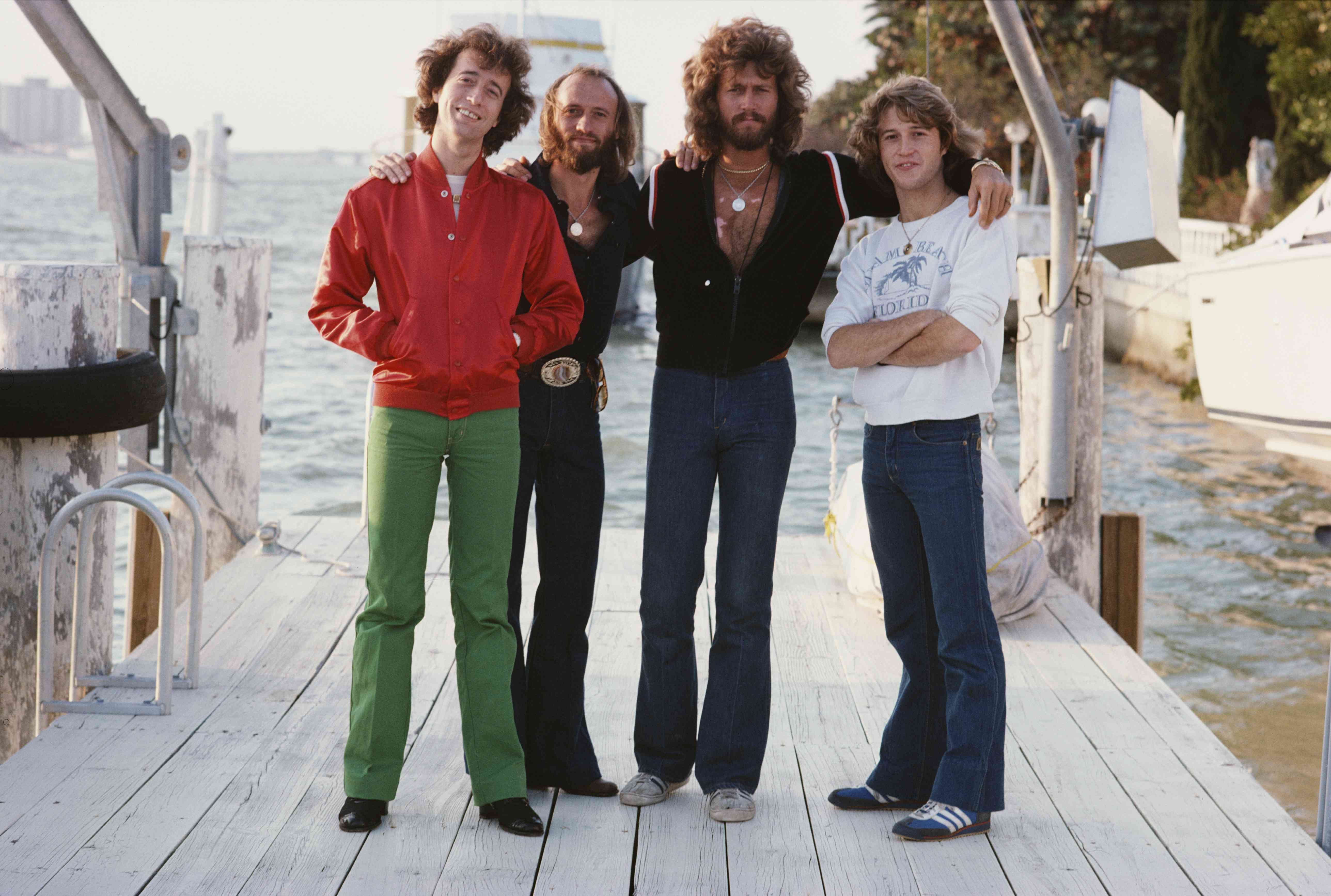 Bee Gees Brothers in Miami, Florida in 1978