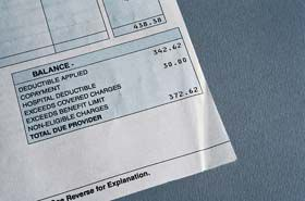 Insurance codes are often wrong - check to avoid billing mistakes.