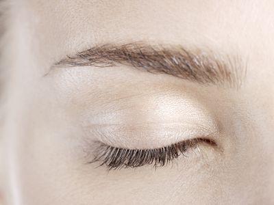 woman's eyelid
