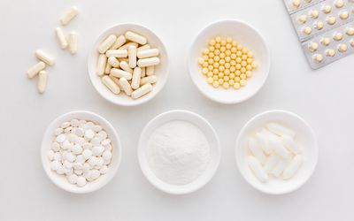 Acidophilus tablets, capsules, powder, softgels, and suppository