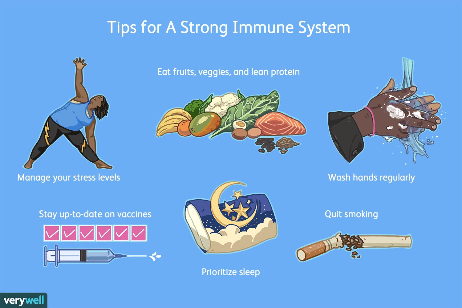 tips for a strong immune system