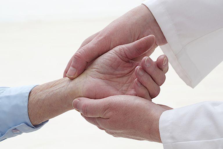 Painful Wrist In An Elderly woman