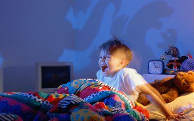 A child having a nightmare