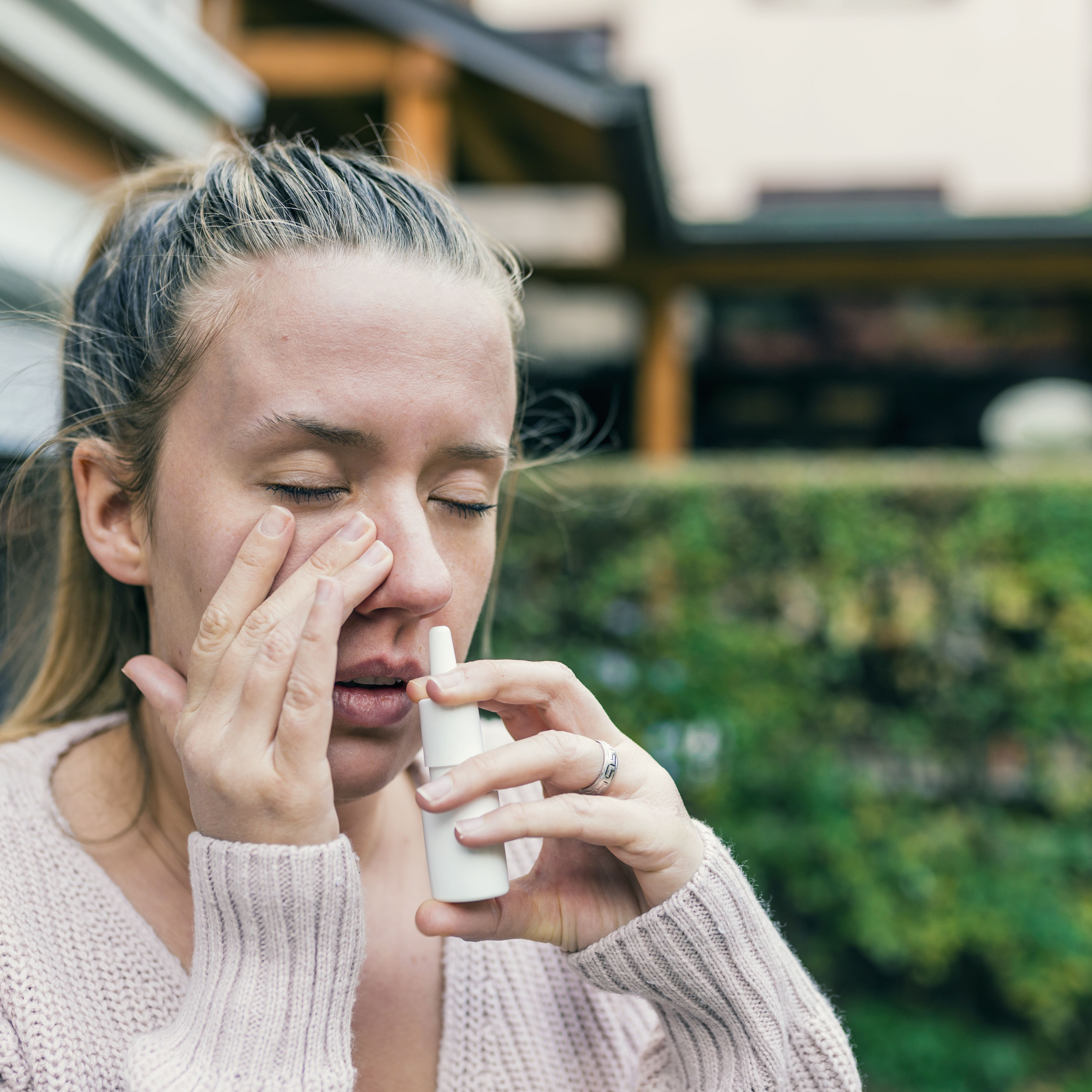 nasal steroid yeast infection
