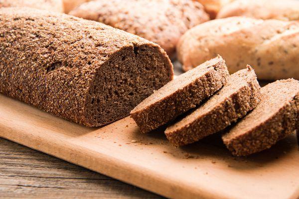 Loaf of gluten free bread