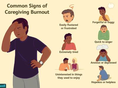 Common Signs of Caregiving Burnout